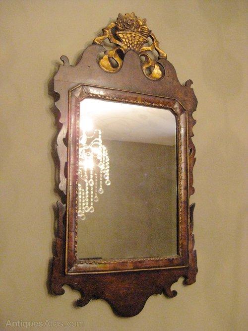 Chippendale Style Fret Work Pier Mirror