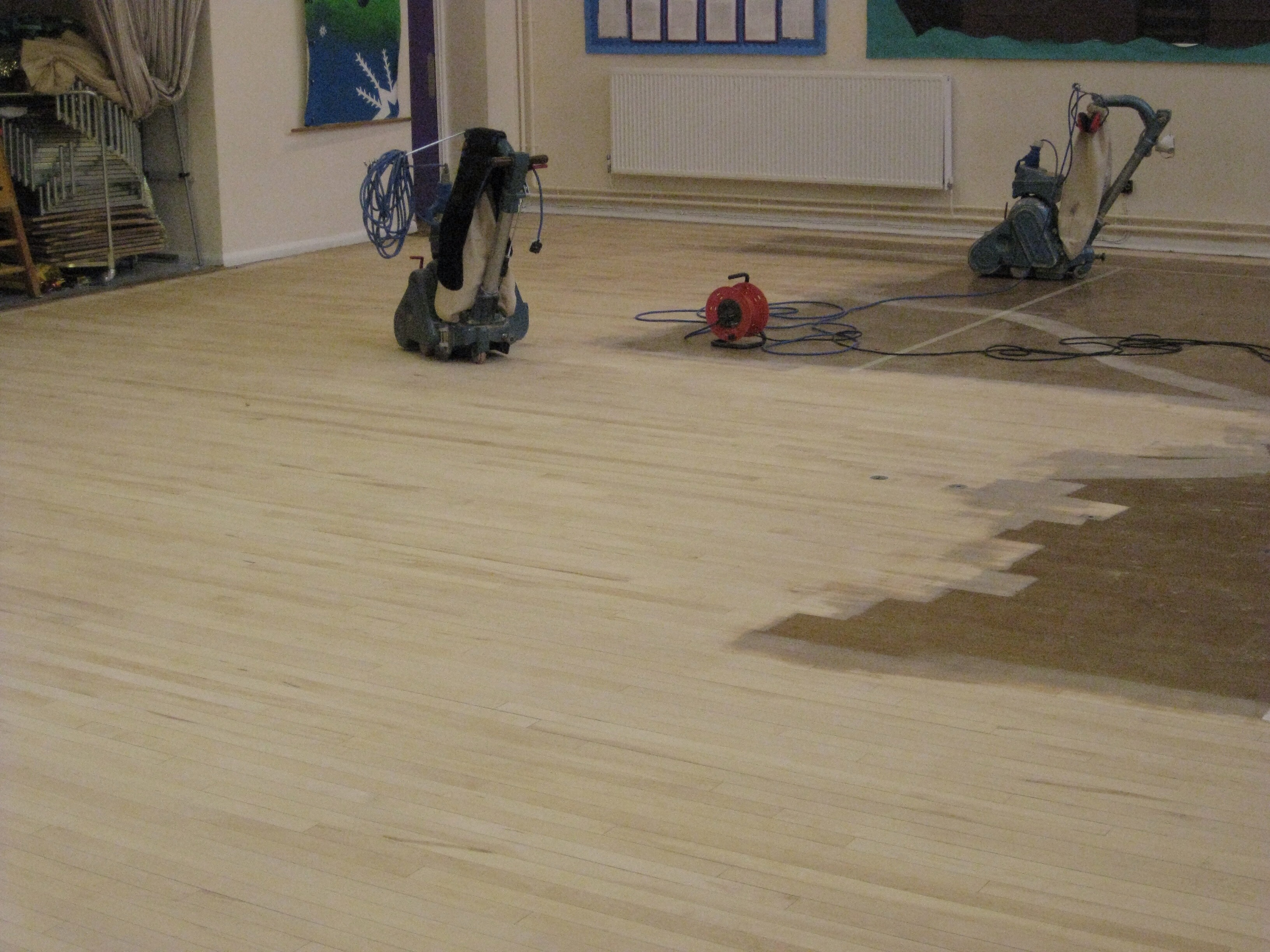School Floor Restoration